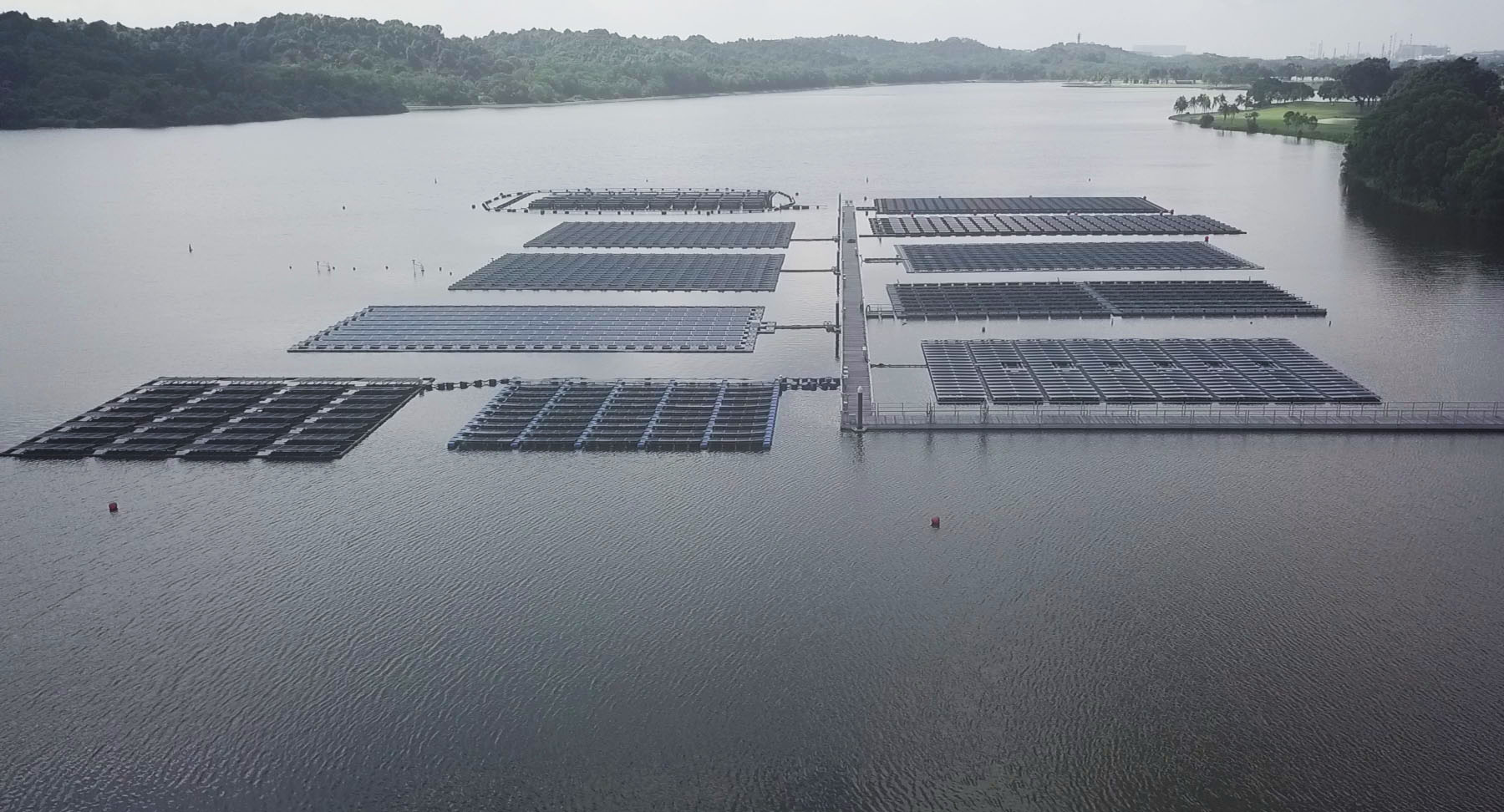 Floating Solar in Singapore